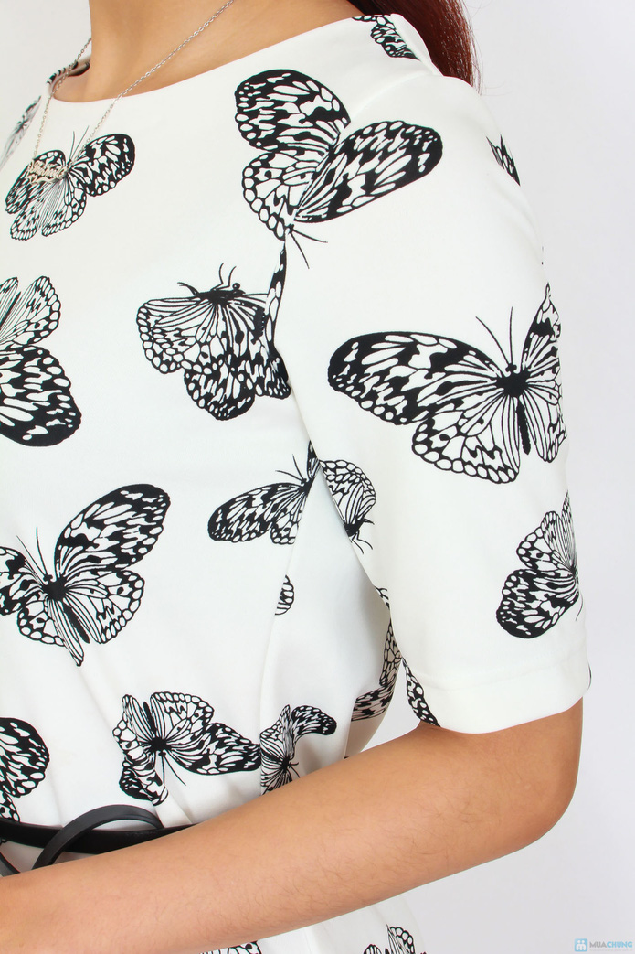 Váy họa tiết cánh bướm- Hot trend xuân hè 2014 - 4