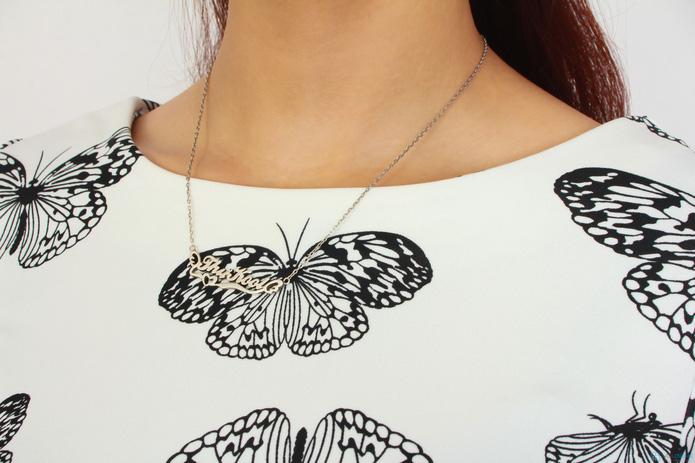 Váy họa tiết cánh bướm- Hot trend xuân hè 2014 - 3