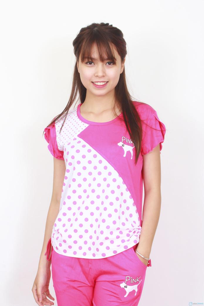 Bộ pink mặc nhà 2014 - 8