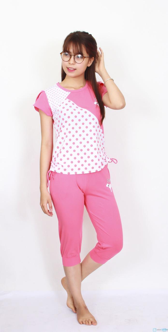 Bộ pink mặc nhà 2014 - 2