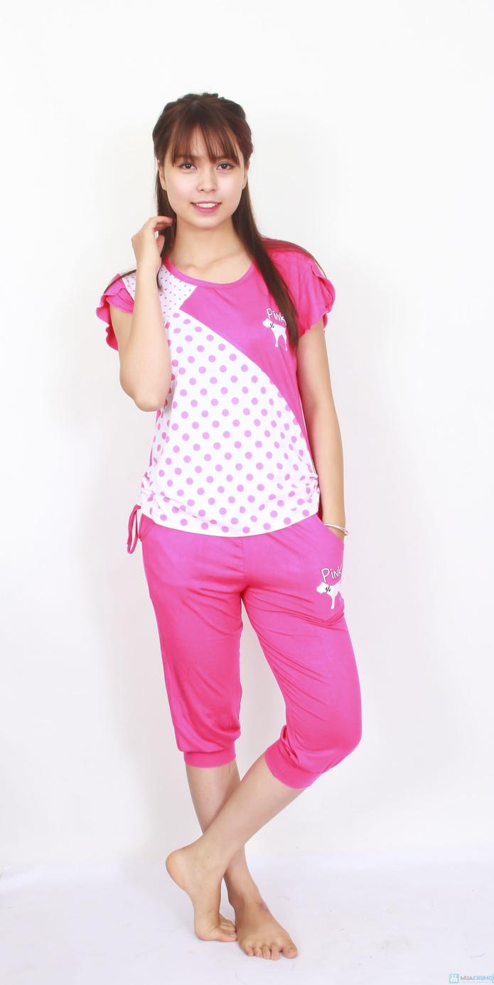 Bộ pink mặc nhà 2014 - 1