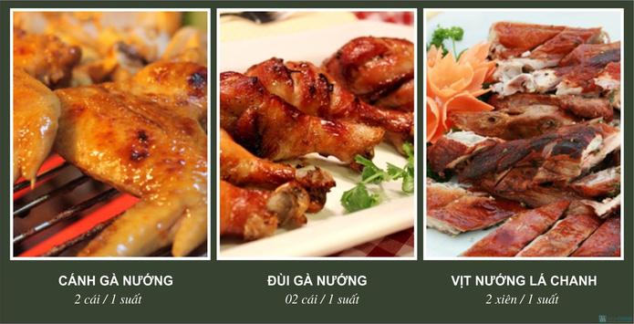 bbq va sushi nha hang Trong Dong Son - 2