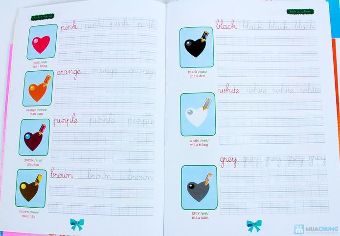 Tập viết chữ đẹp & tô màu (2 tập) + Tập viết chữ đẹp tiếng Anh (4 tập) - 3
