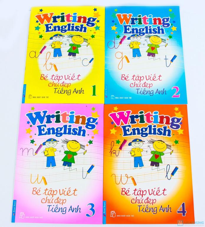 Tập viết chữ đẹp & tô màu (2 tập) + Tập viết chữ đẹp tiếng Anh (4 tập) - 2