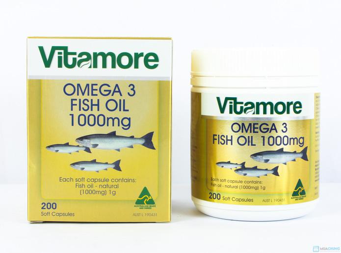 Dầu gan cá Vitamore 200 viên - 9