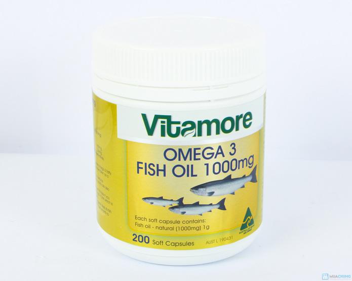 Dầu gan cá Vitamore 200 viên - 6