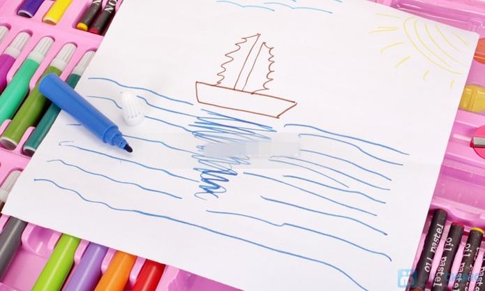 Bộ tô màu 96 món hoạt hình dành cho bé yêu - 14