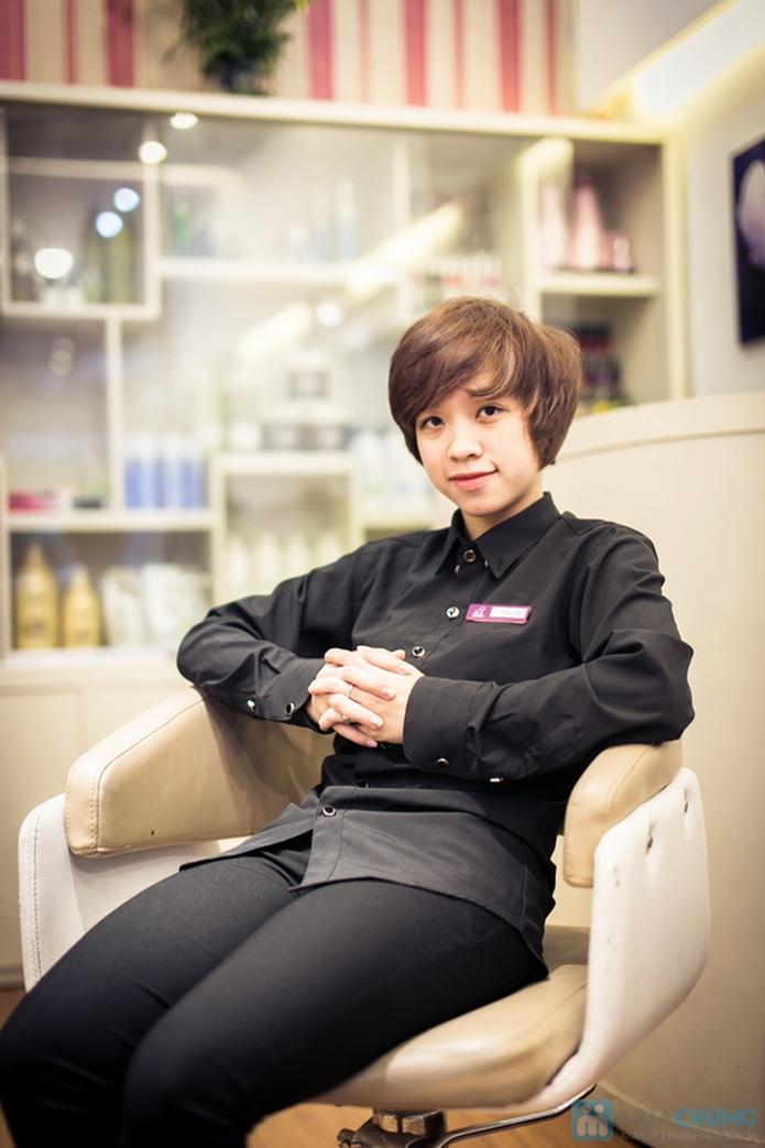 Dập phồng chân tóc siêu tái tạo tại Miu Lee Salon - 16