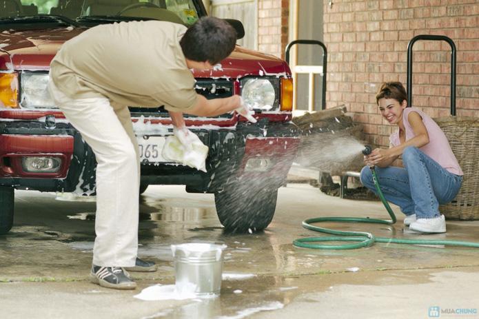 Vòi rửa xe loại 20m vòi đồng - 2