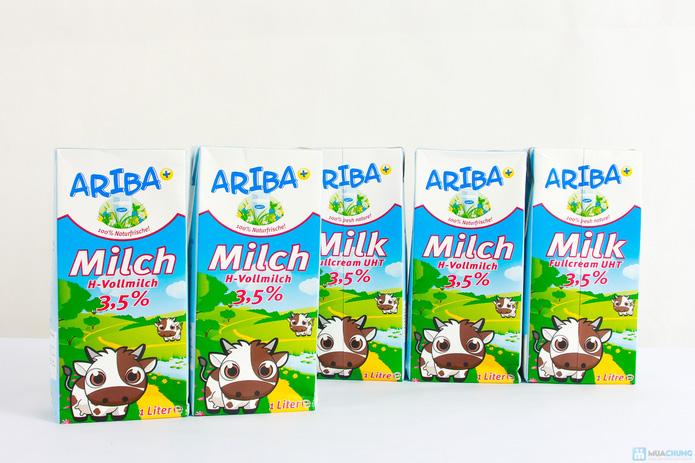 Combo 5 hộp sữa nguyên kem Ariba - 6