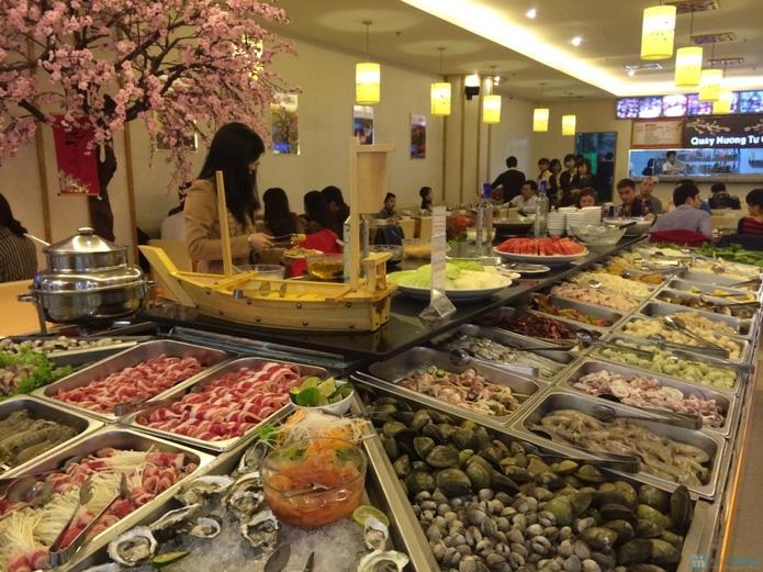 Buffet lẩu nướng Sami -góc Á Châu giữa lòng Hà Nội - 4