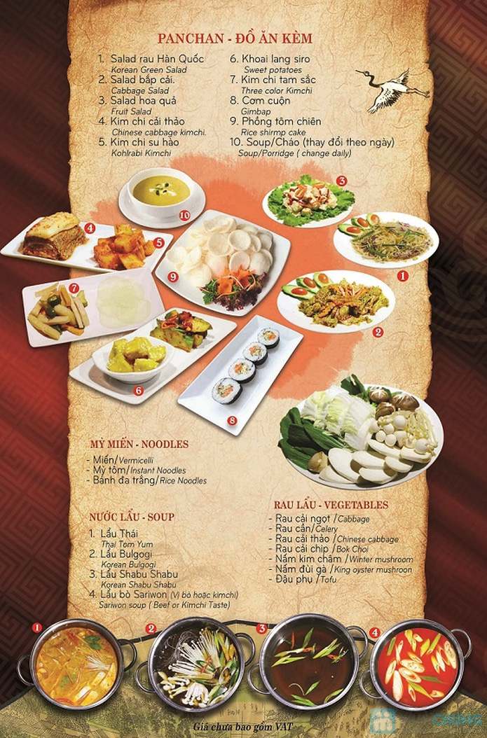 Buffet Nướng Lẩu Hàn Quốc SARIWON-Royal City - 4
