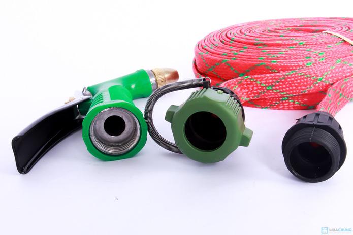 Vòi rửa xe 15m cực mạnh loại vòi đồng siêu bền - 2