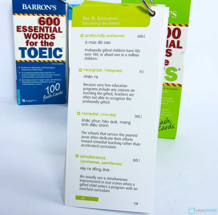 600 essential words for the toeic test: