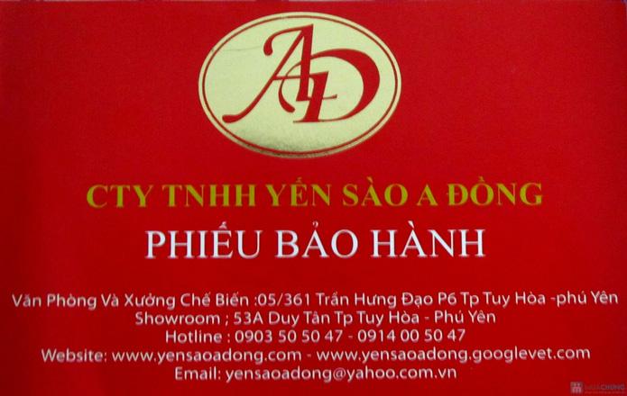 Yến sào thiên nhiên A Đồng 100gr (tặng yến huyết + yến trắng + hộp đường phèn) - 2