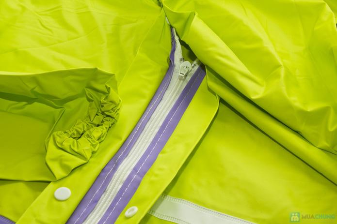 Áo mưa dây kéo cho 1 người - 2