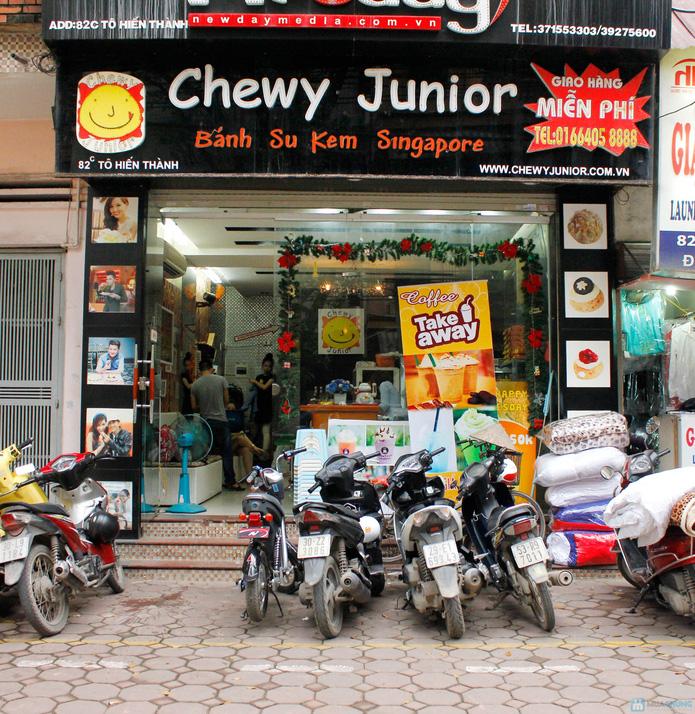 Hệ Thống Bánh Su Singapore Chewy Junior - 26