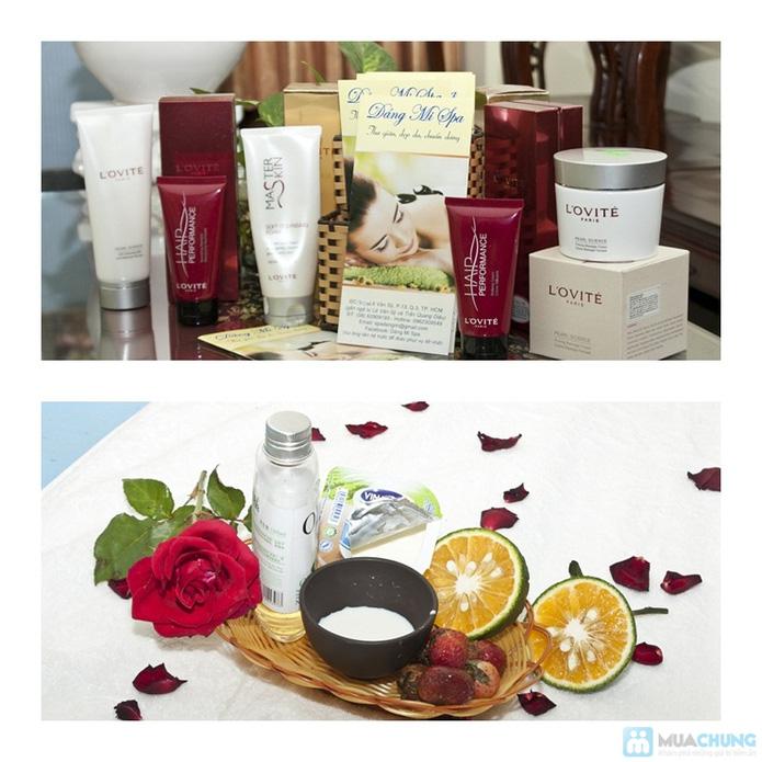 Deal Trọn gói chăm sóc da mặt + tẩy tế bào chết + dưỡng mịn da toàn thân bằng dưỡng chất từ thiên nhiên. - 1