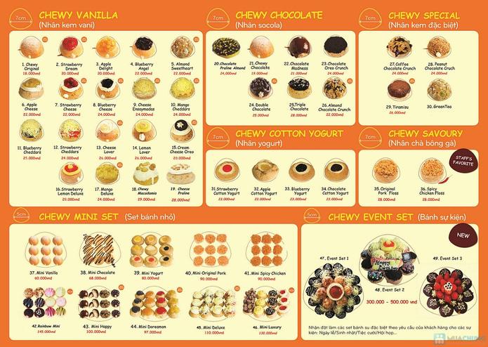 Hệ Thống Bánh Su Singapore Chewy Junior - 1