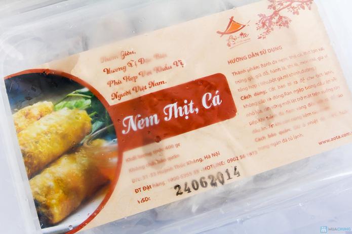 02 hộp Nem thịt Cá 400g/hộp - Ao ta hương vị cội nguồn - 1