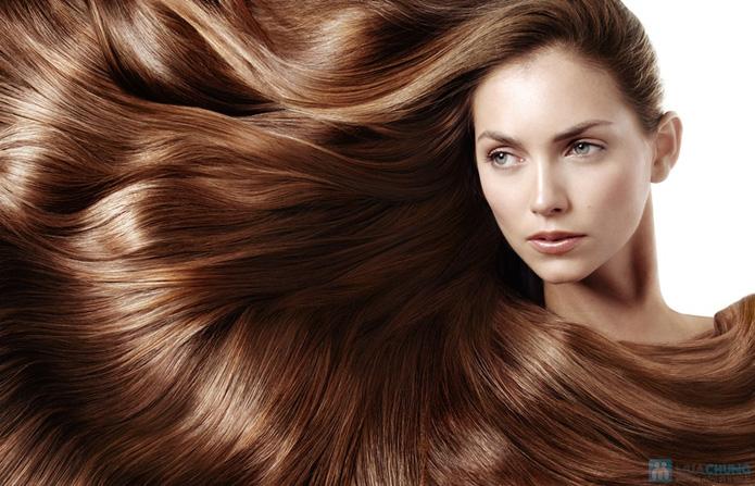 Uốn / Duỗi / Nhuộm + gội + sấy dùng mỹ phẩm Loreal  tại Beauty Salon cây kéo vàng Gia Lạc - 4