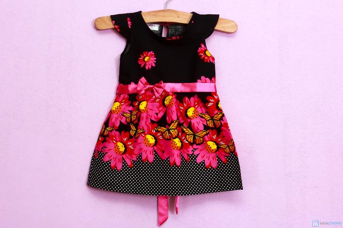 Đầm hoa cotton xinh xắn và điệu đà - 1
