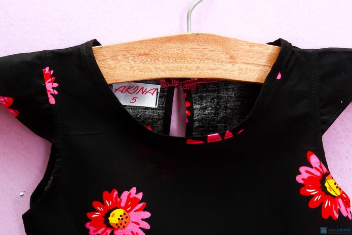 Đầm hoa cotton xinh xắn và điệu đà - 3