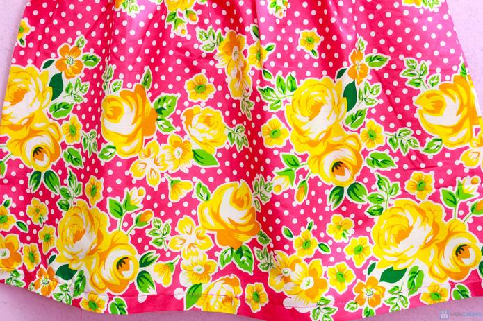 Đầm hoa cotton xinh xắn và điệu đà - 7