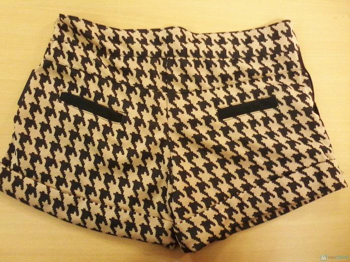 Combo 2 quần short nữ họa tiết răng sói - 8