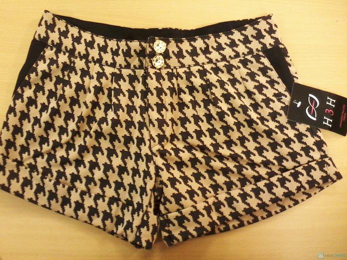 Combo 2 quần short nữ họa tiết răng sói - 4