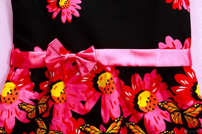 Đầm hoa cotton xinh xắn và điệu đà - 2