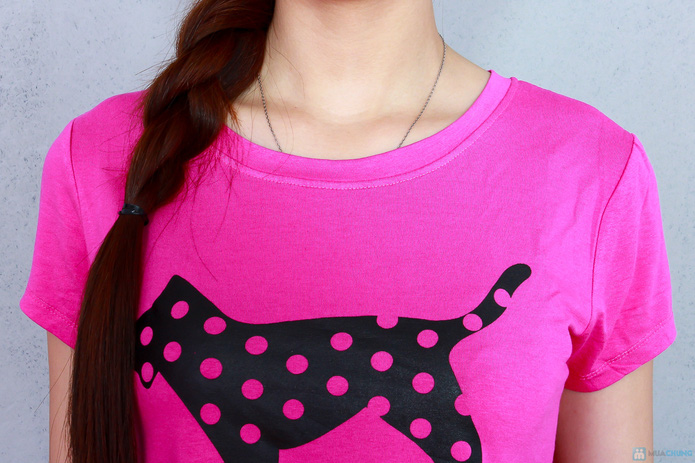 Bộ pink cộc cotton thoáng mát - 4