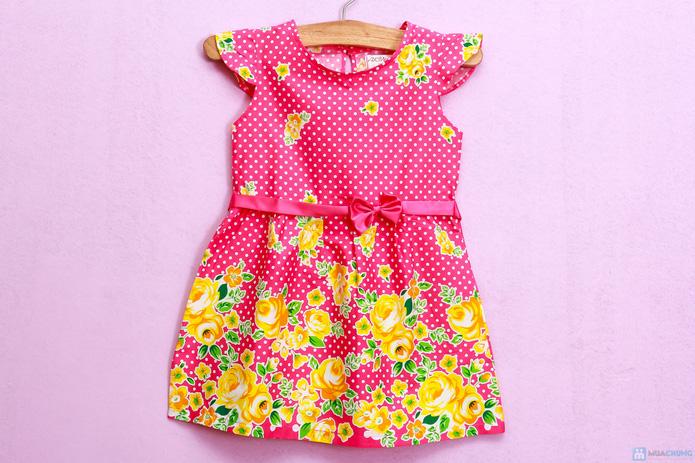 Đầm hoa cotton xinh xắn và điệu đà - 6