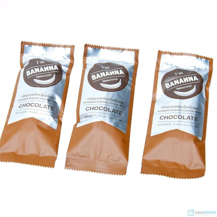 Combo 02 Hộp Chuối Khô Organic Phủ Chocolate Thái Lan - 5