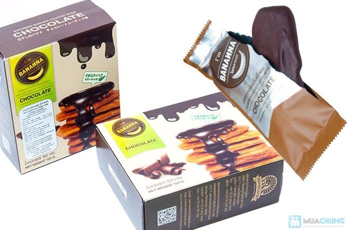 Combo 02 Hộp Chuối Khô Organic Phủ Chocolate Thái Lan - 7