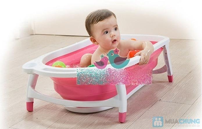 Chậu tắm gấp gọn tiện dụng cho bé yêu - 4