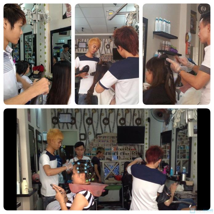 Uốn / Nhuộm / Duỗi + Gội + Sấy tại Hair Salon Kéo Vàng - 1