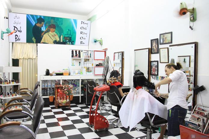 Dịch vụ Cắt + Duỗi/Nhuộm/Uốn tại Salon Đình Bắc - 7
