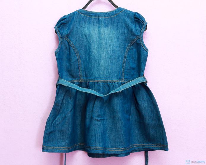 váy bò cho bé gái - 2