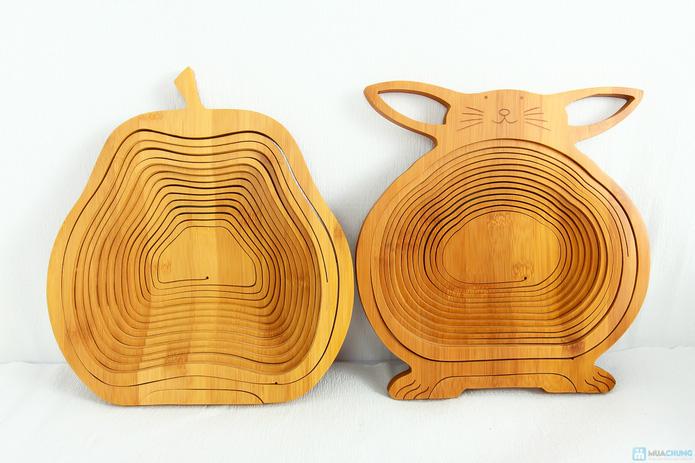 Giỏ gỗ thông minh đựng hoa quả  - 2