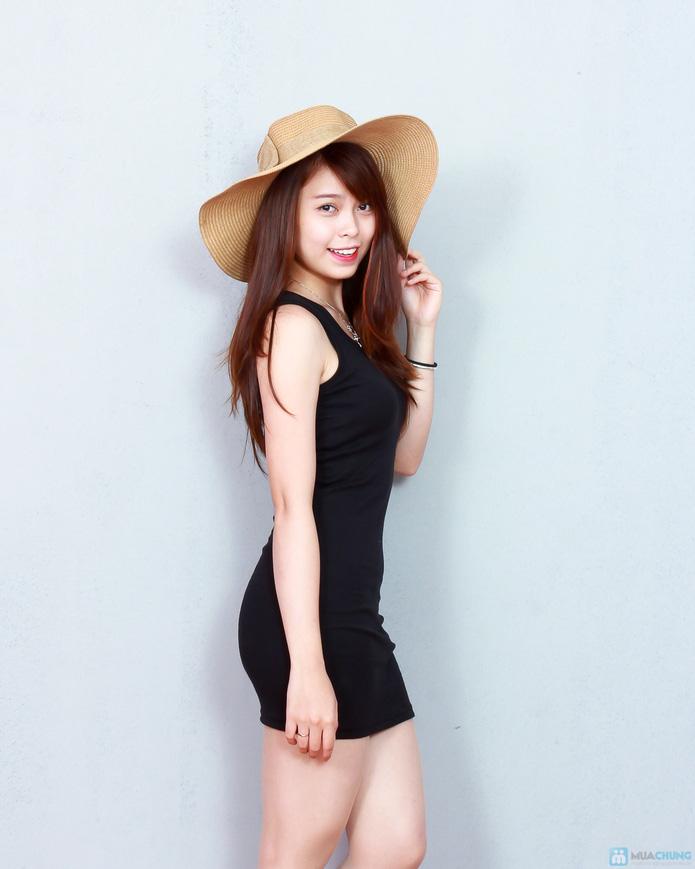 2 váy ba lỗ cotton thoáng mát cho ngày hè - 1