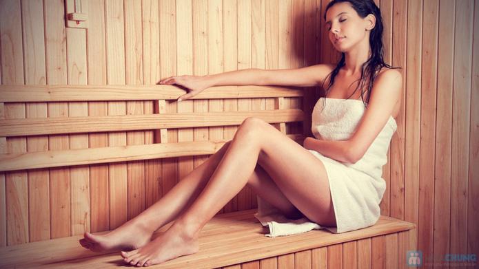 Combo trọn gói Xông Hơi + Massage Body Nhật + Chăm Sóc Mặt - Đắp Mặt Nạ Collagen - 2