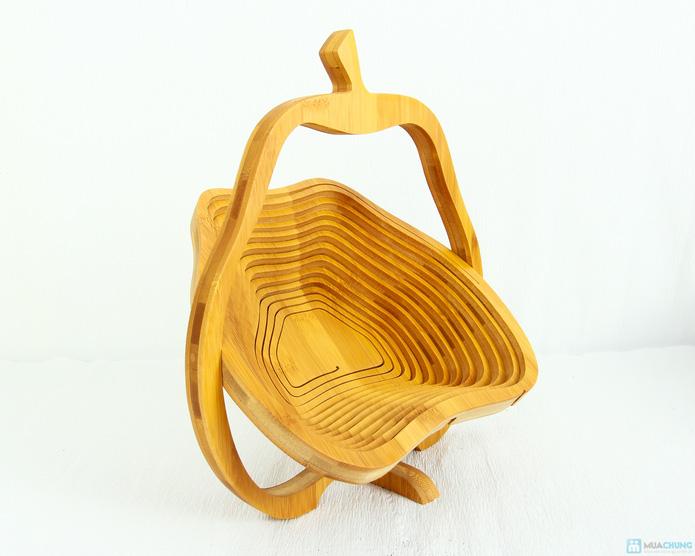 Giỏ gỗ thông minh đựng hoa quả  - 9