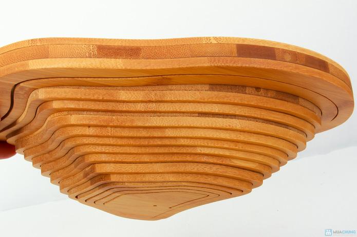 Giỏ gỗ thông minh đựng hoa quả  - 6