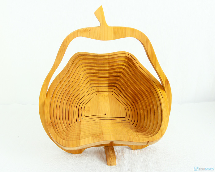 Giỏ gỗ thông minh đựng hoa quả  - 7