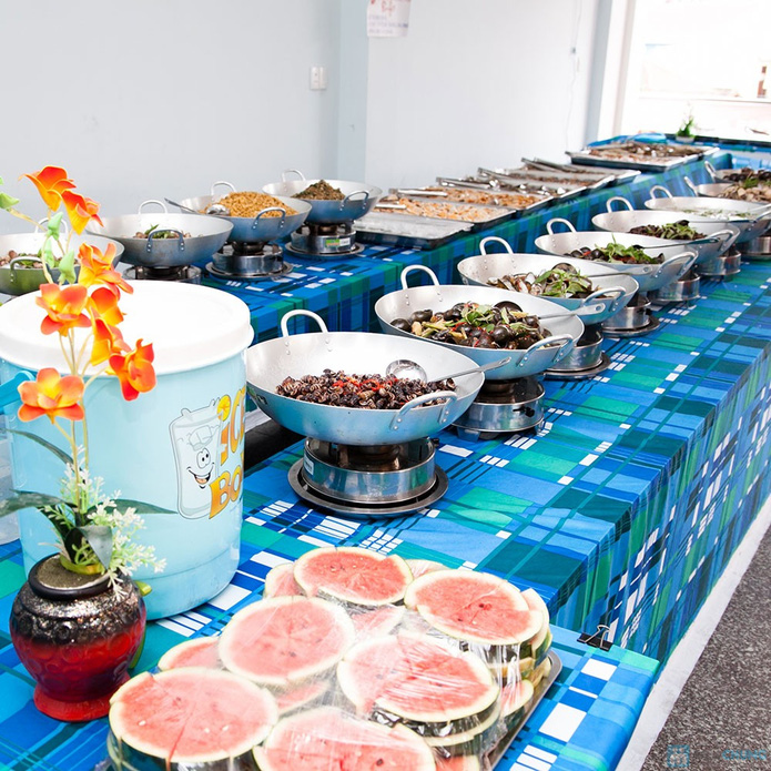 Buffet Ốc tự nướng cuối tuần-Ẩm thực Người Sài Gòn - 1