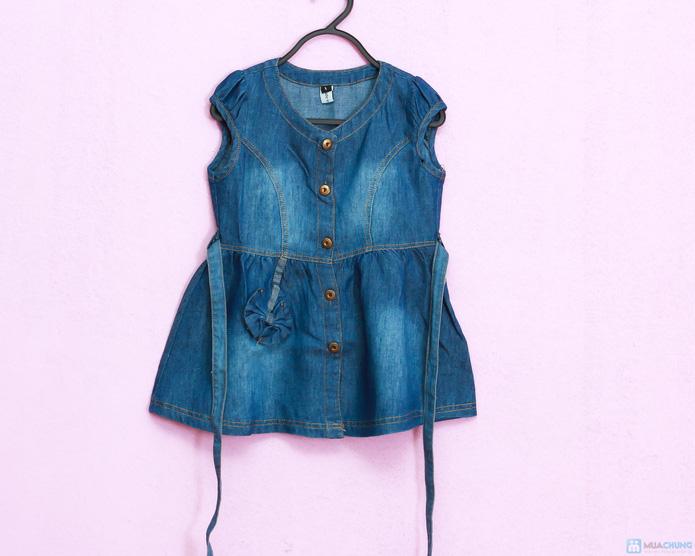Cá tính và phong cách với váy bò - 1