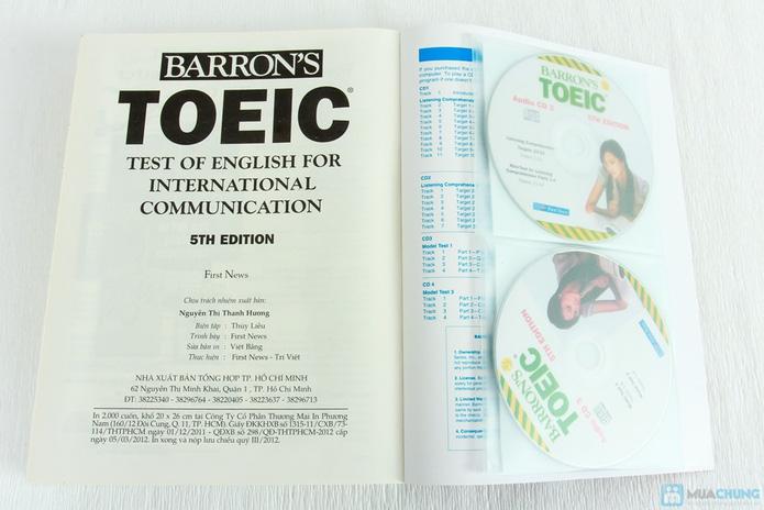 Barron's - Toeic 5th + 4CD - 2