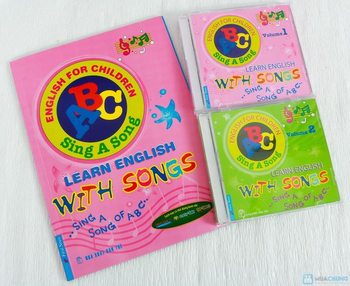 Learning English with songs + 8 cuốn Bé học tiếng Anh & phát triển IQ - 1