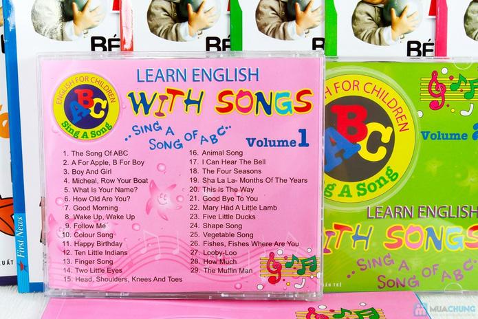 Learning English with songs + 8 cuốn Bé học tiếng Anh & phát triển IQ - 5